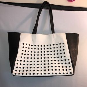 Studded Tote Purse